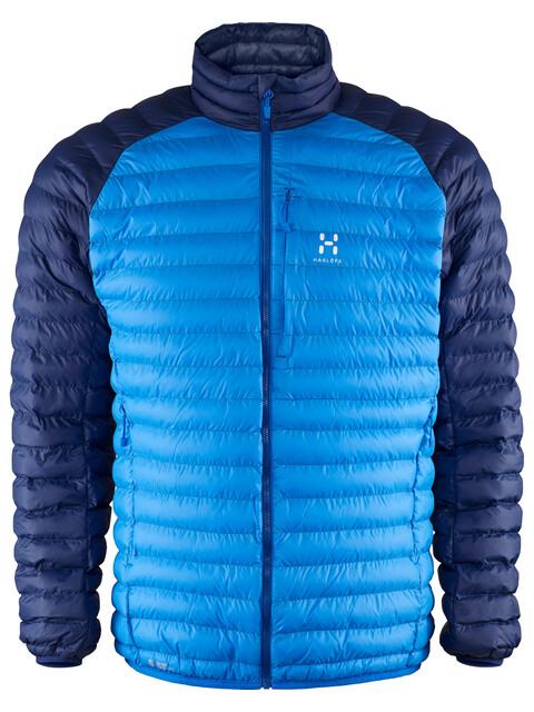 Haglöfs Essens Mimic Jacket Men vibrant blue/hurricane blue